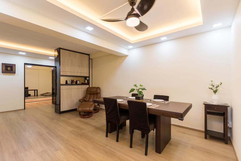 Contemporary, HDB, Dining Room, Choa Chu Kang Avenue 4, Interior Designer, Tab Gallery