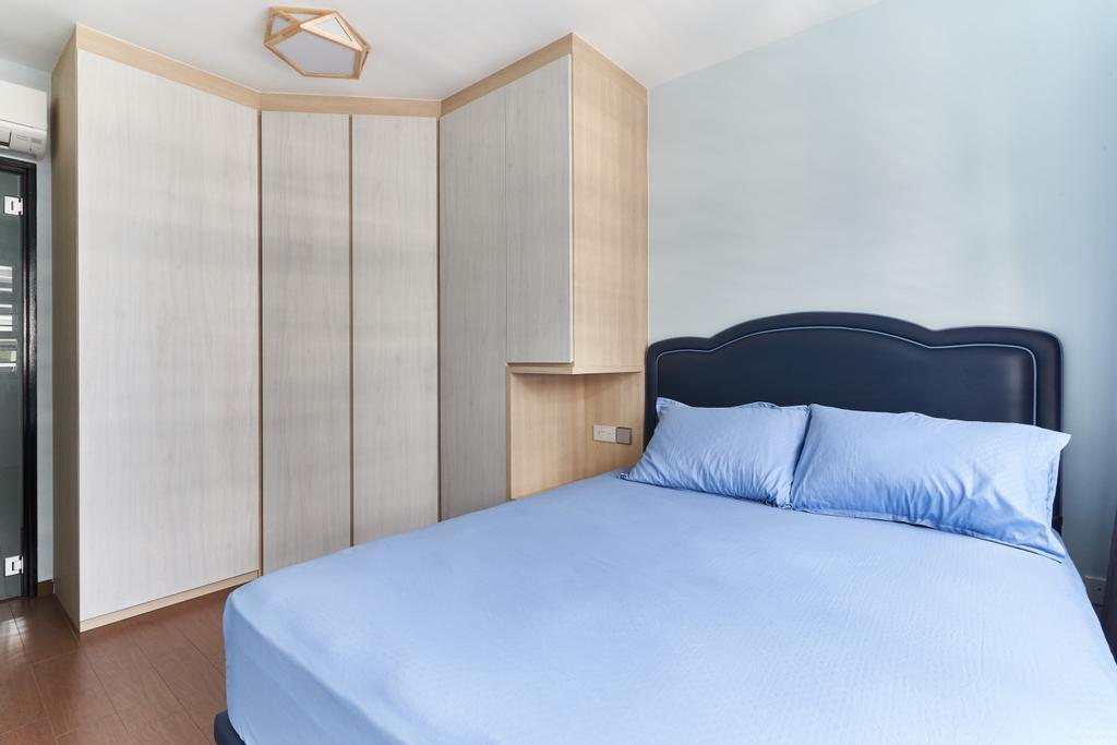 Contemporary, HDB, Bedroom, Bukit Batok West Avenue 8, Interior Designer, Roughsketch