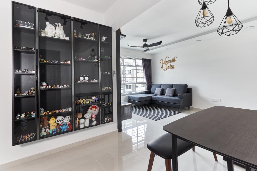 Contemporary, HDB, Bukit Batok West Avenue 8, Interior Designer, Roughsketch