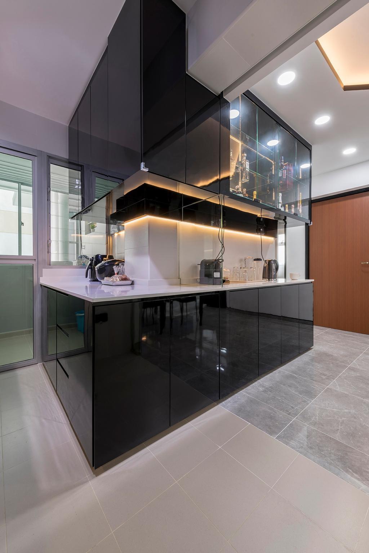Contemporary, HDB, Skyline II, Interior Designer, NID Design Group