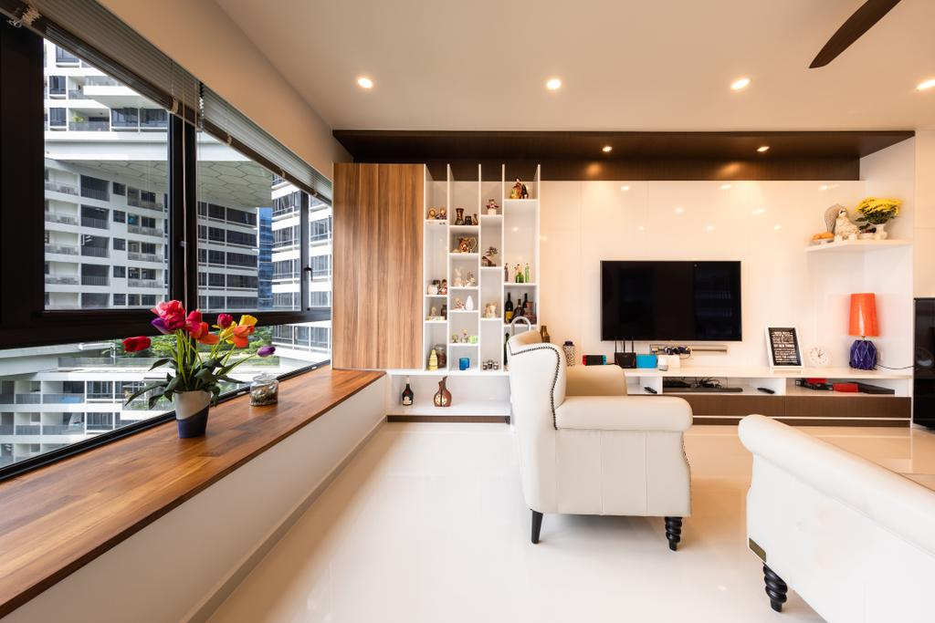 Contemporary, Condo, Living Room, The Interlace, Interior Designer, NID Design Group
