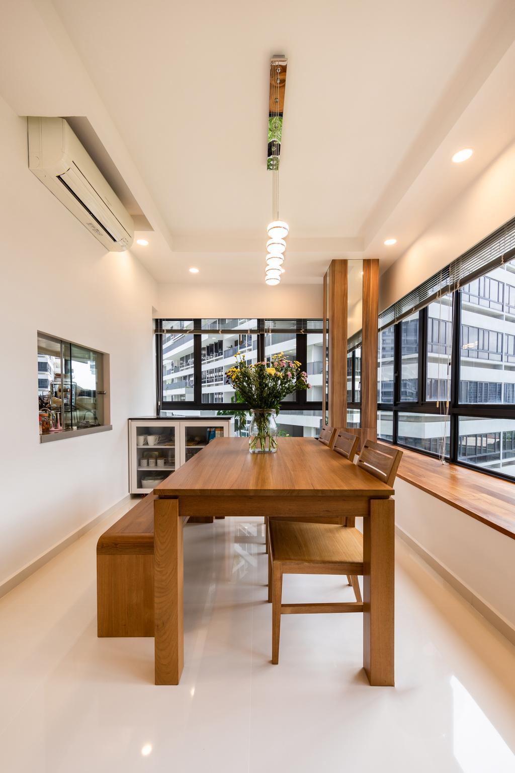 Contemporary, Condo, Dining Room, The Interlace, Interior Designer, NID Design Group