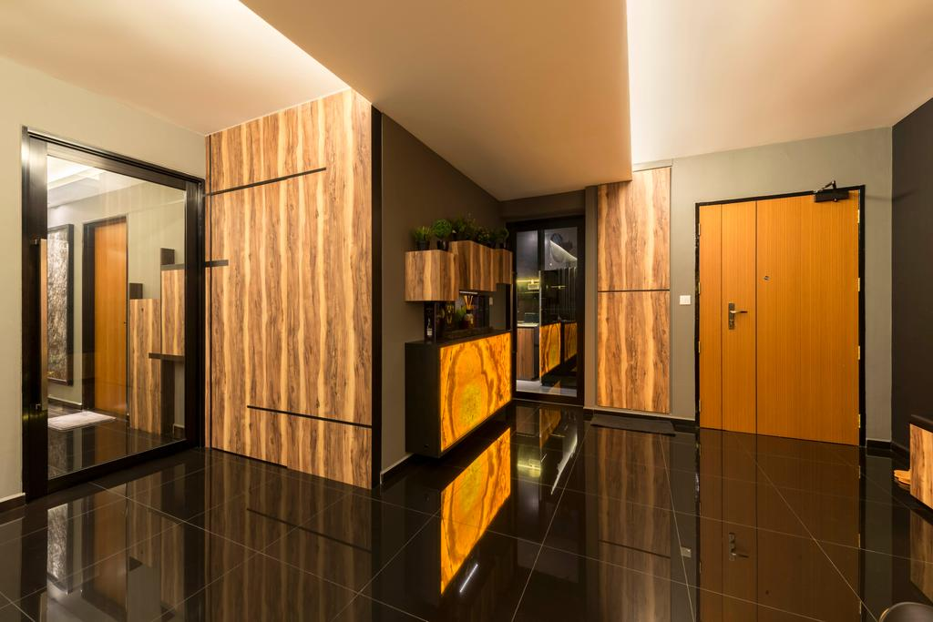 Contemporary, HDB, Yishun Avenue 1, Interior Designer, NID Design Group