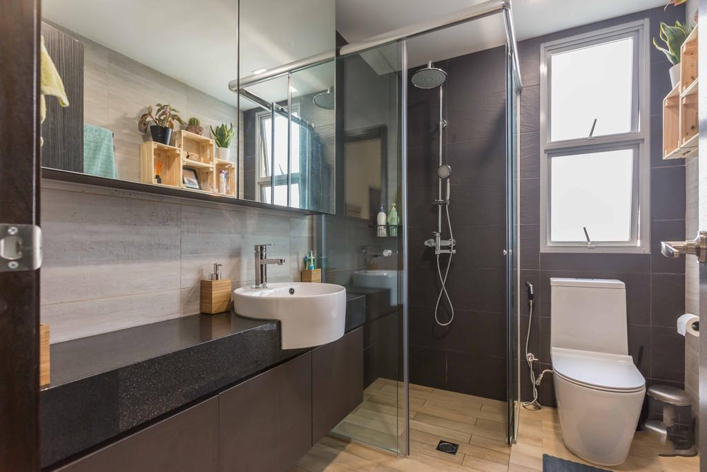 Contemporary, Condo, Bathroom, The Alcove, Interior Designer, NID Design Group