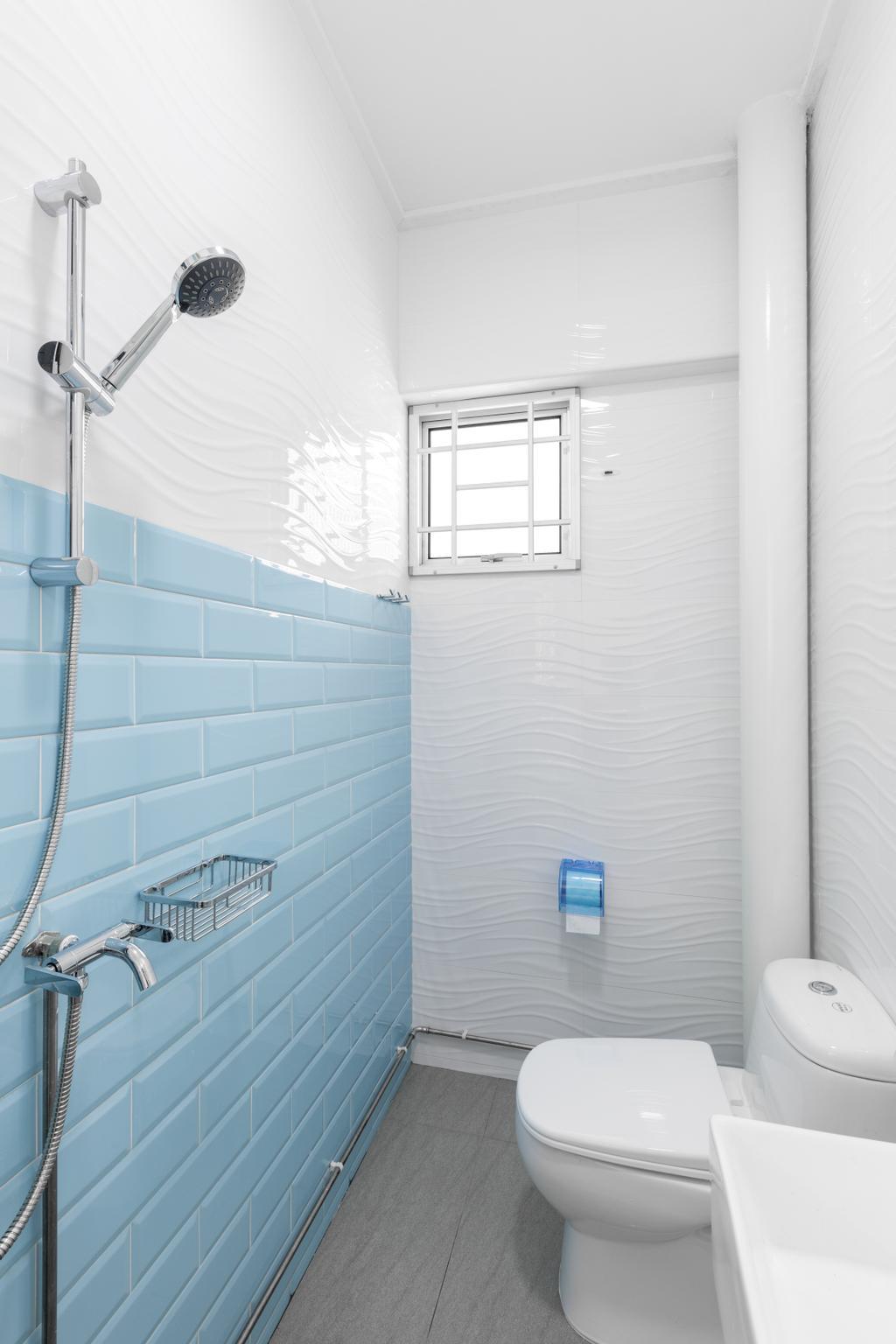 Modern, HDB, Bathroom, Serangoon Central Drive, Interior Designer, Starry Homestead