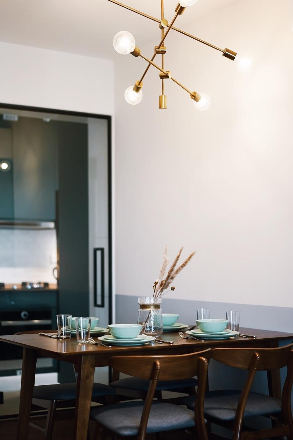 Contemporary, HDB, Dining Room, Henderson Road, Interior Designer, Authors • Interior & Styling, Modern