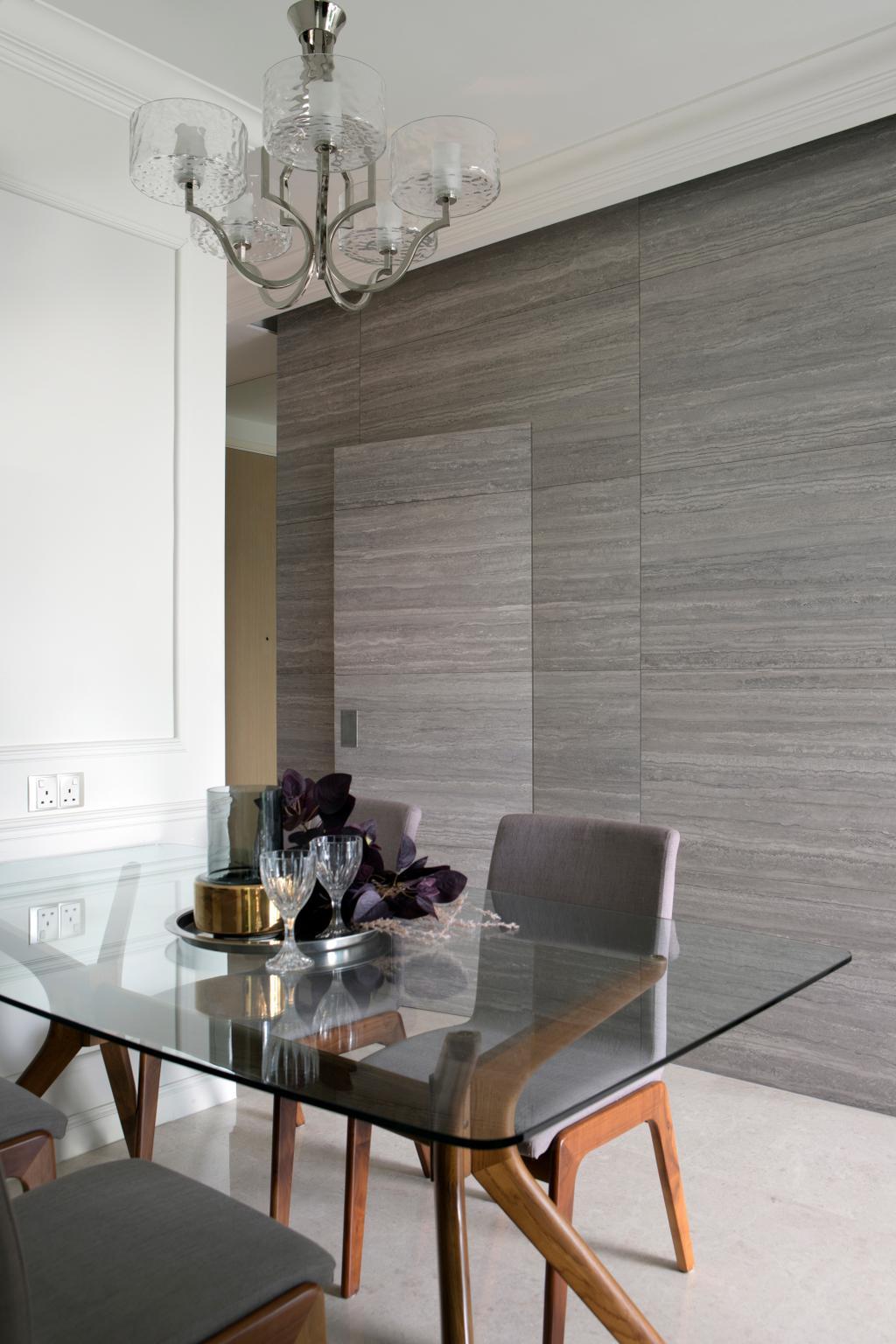 Contemporary, Condo, Dining Room, Skies Miltonia, Interior Designer, Briey Interior