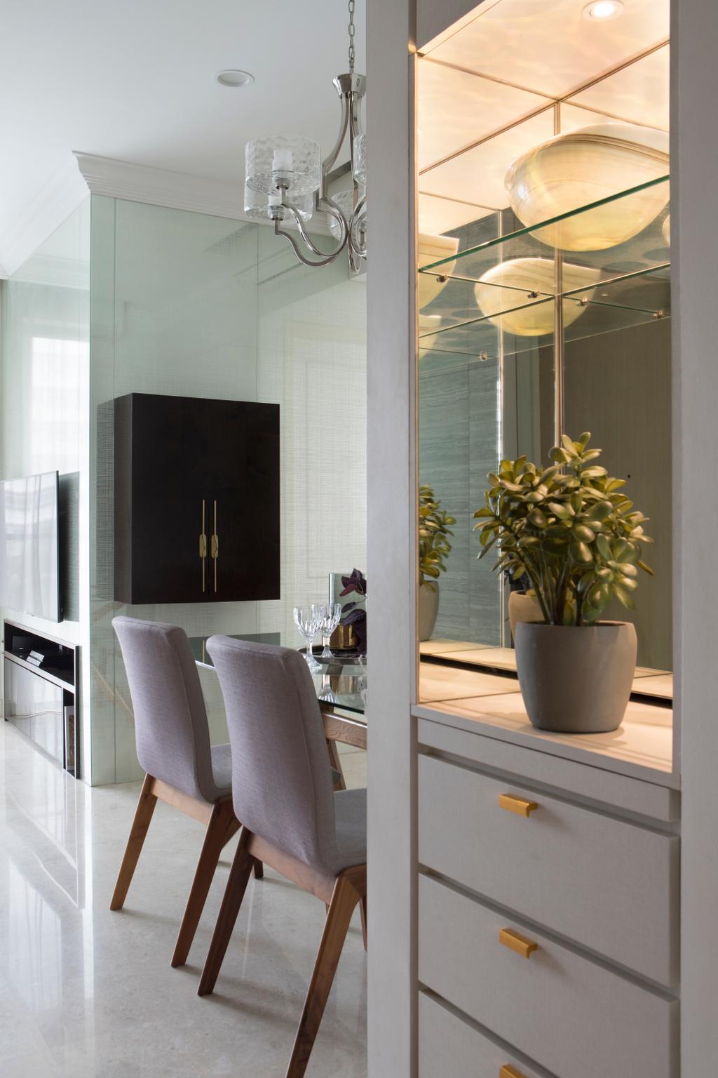 Contemporary, Condo, Living Room, Skies Miltonia, Interior Designer, Briey Interior