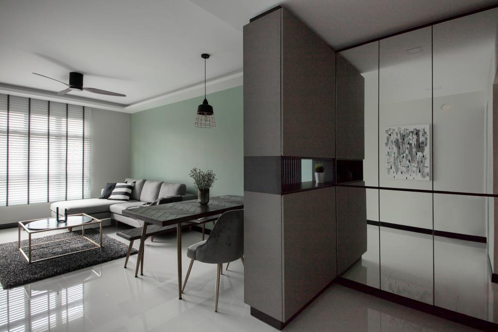 Contemporary, HDB, Henderson Road, Interior Designer, Happe Design Atelier