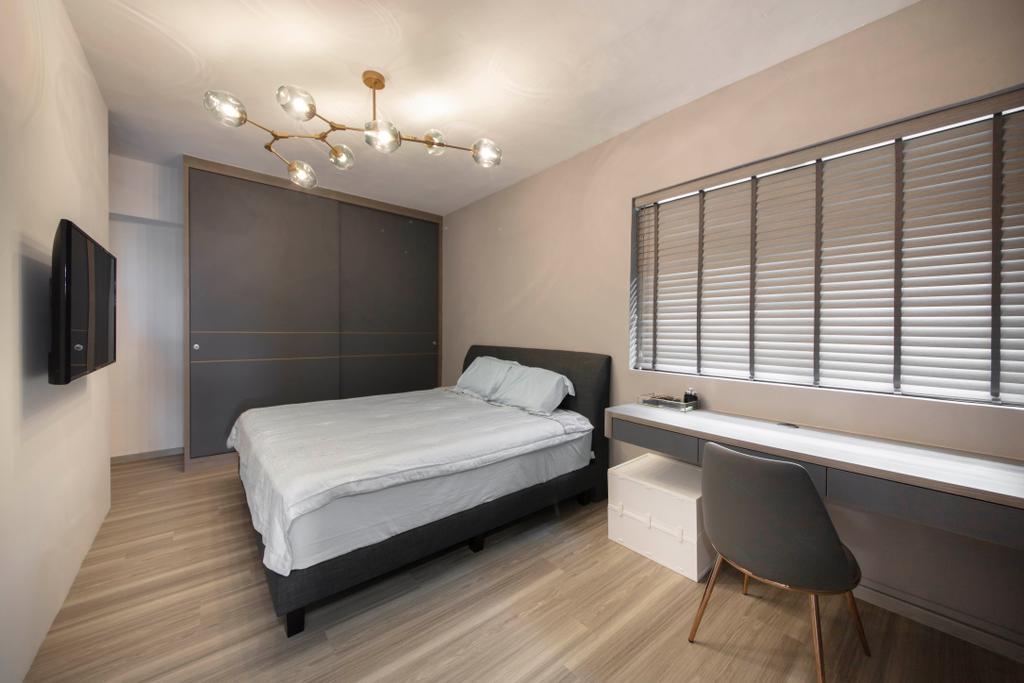 Contemporary, HDB, Bedroom, Choa Chu Kang Avenue 3, Interior Designer, ECasa Studio
