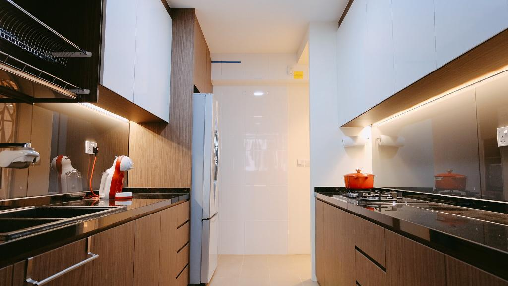 Contemporary, HDB, Kitchen, Punggol Drive, Interior Designer, Concept WX