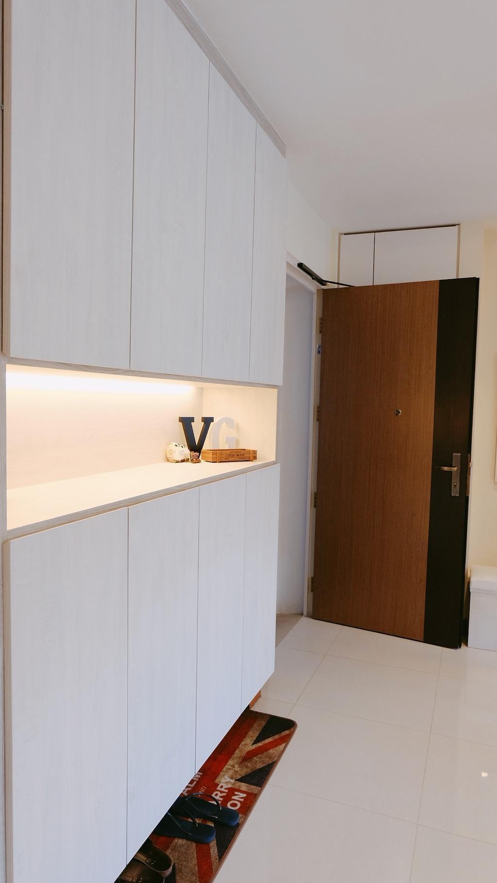 Contemporary, HDB, Living Room, Punggol Drive, Interior Designer, Concept WX