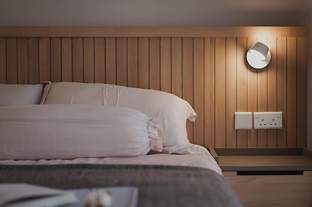 Scandinavian, Condo, Bedroom, Commonweath Towers, Interior Designer, Authors • Interior & Styling