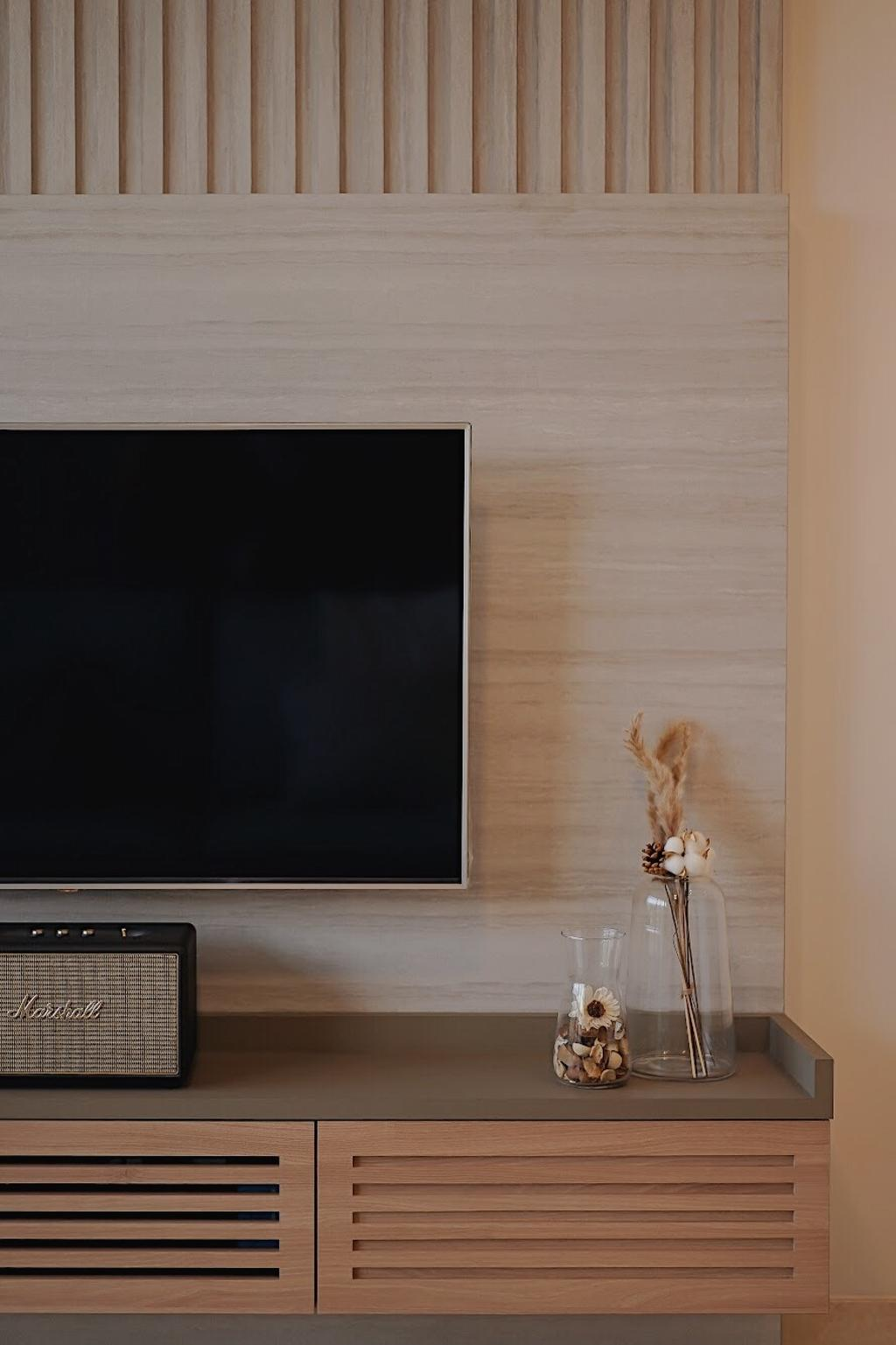 Scandinavian, Condo, Living Room, Commonweath Towers, Interior Designer, Authors • Interior & Styling