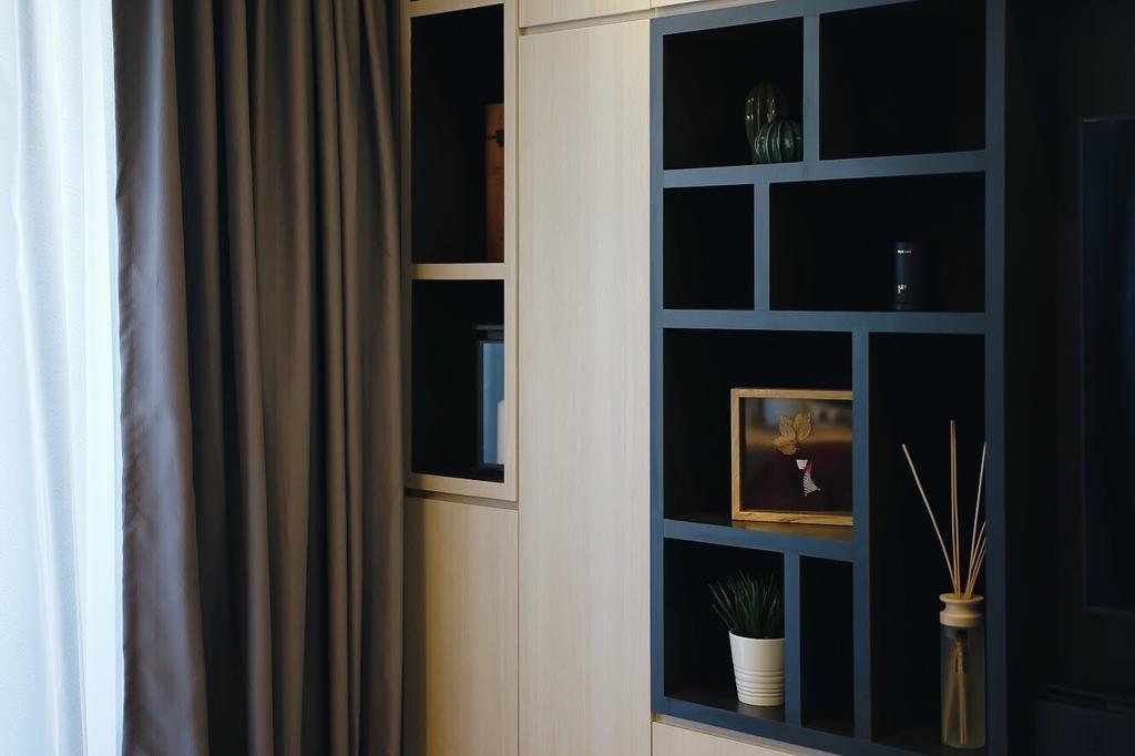 Contemporary, Condo, Living Room, Yishun Street 51, Interior Designer, Authors • Interior & Styling