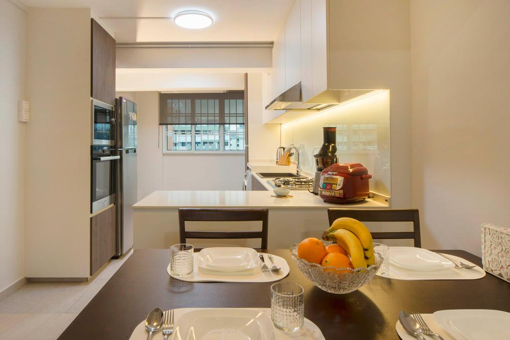 Contemporary, HDB, Dining Room, Telok Blangah, Interior Designer, Great Oasis Interior Design