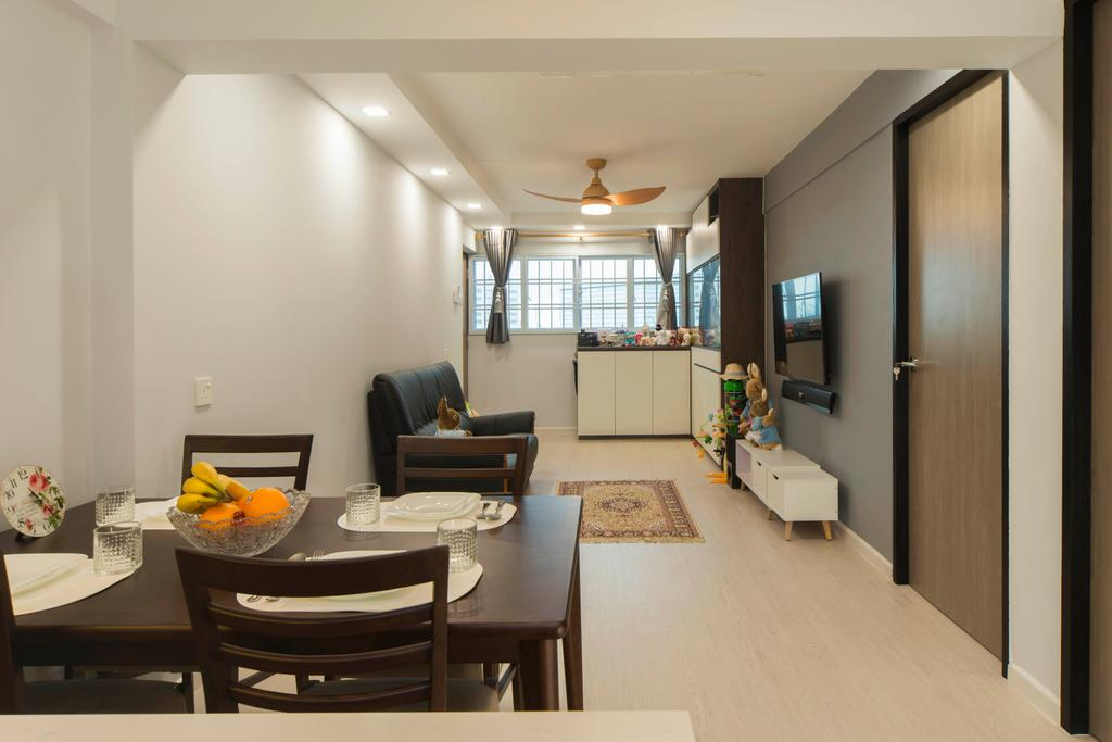Contemporary, HDB, Telok Blangah, Interior Designer, Great Oasis Interior Design