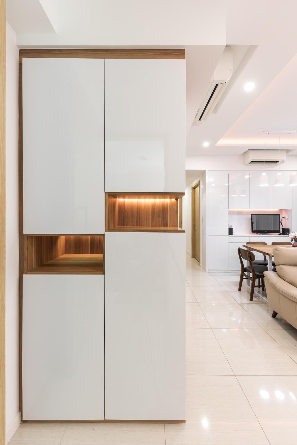 Contemporary, Condo, Living Room, Boathouse Residence, Interior Designer, ECasa Studio