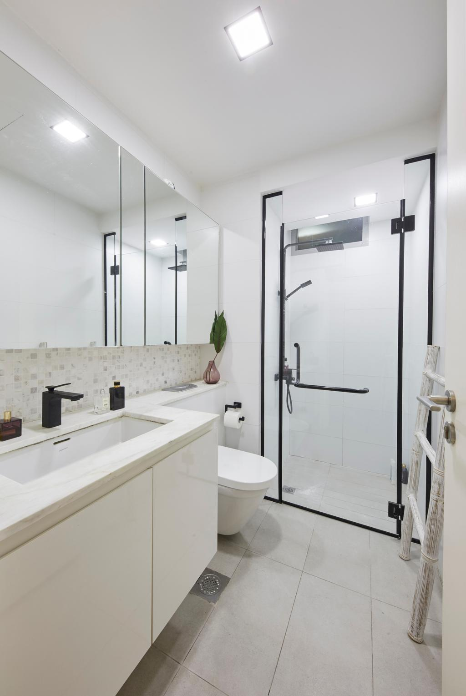Contemporary, Condo, Bathroom, The Minton, Interior Designer, The Interior Lab