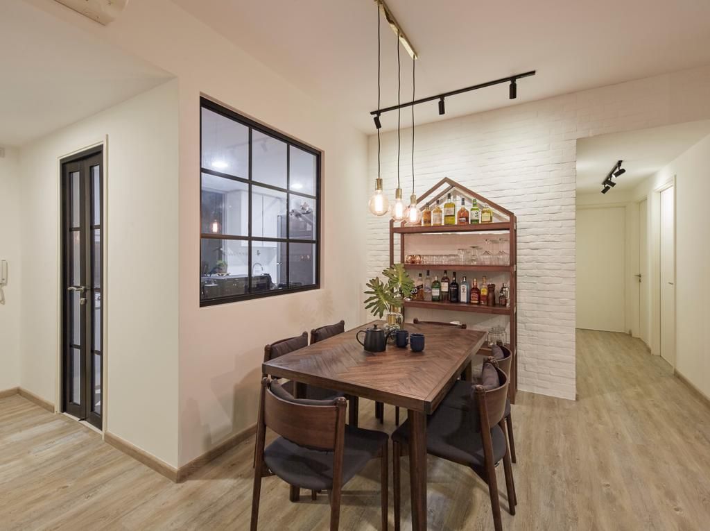Contemporary, Condo, Dining Room, The Minton, Interior Designer, The Interior Lab