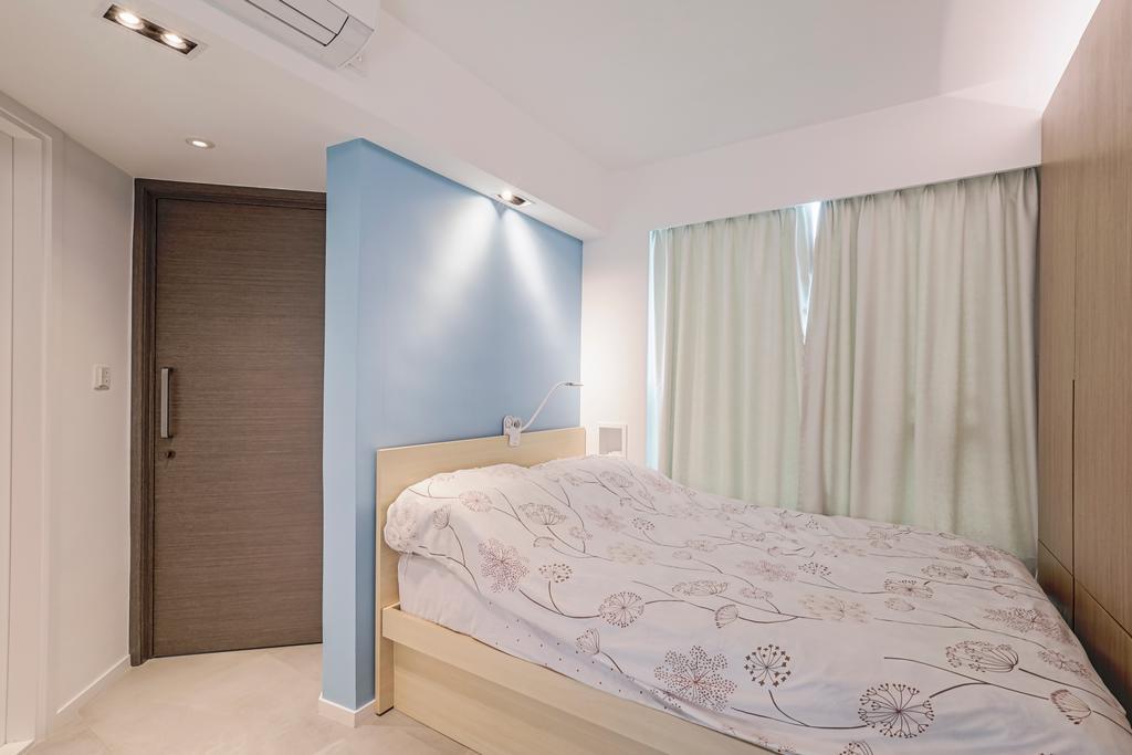 簡約, 私家樓, 睡房, 土瓜灣, 室內設計師, O - Square Interior Design