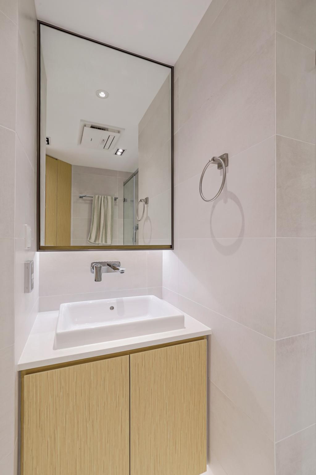 簡約, 私家樓, 浴室, 土瓜灣, 室內設計師, O - Square Interior Design