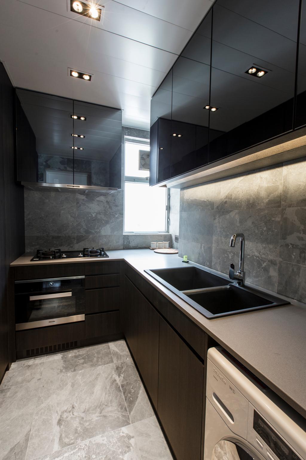 摩登, 私家樓, 廚房, 九龍塘, 室內設計師, O - Square Interior Design, 簡約