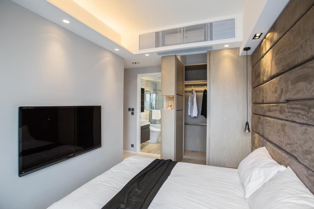 摩登, 私家樓, 睡房, 九龍塘, 室內設計師, O - Square Interior Design, 簡約