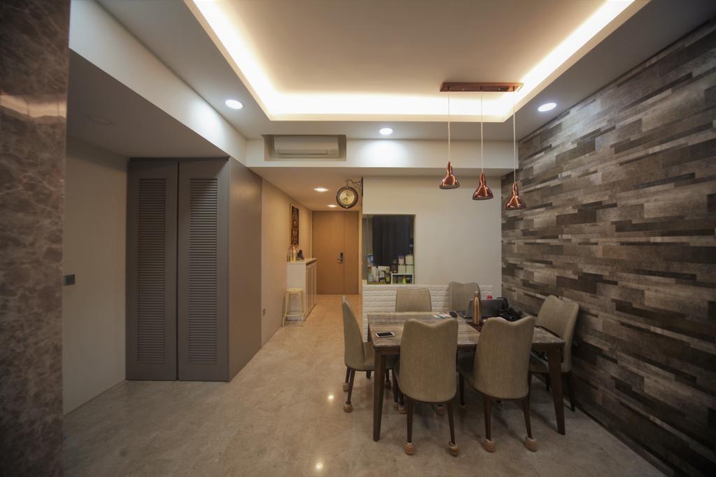 Transitional, Condo, Dining Room, The Venue Residences, Interior Designer, Interior Diary