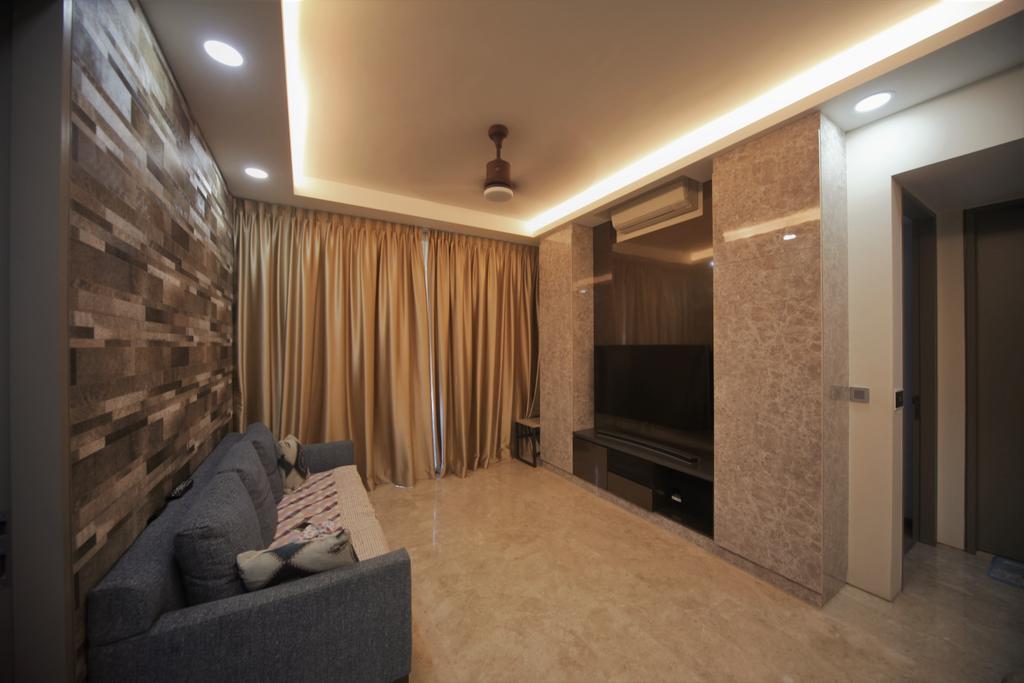 Transitional, Condo, Living Room, The Venue Residences, Interior Designer, Interior Diary