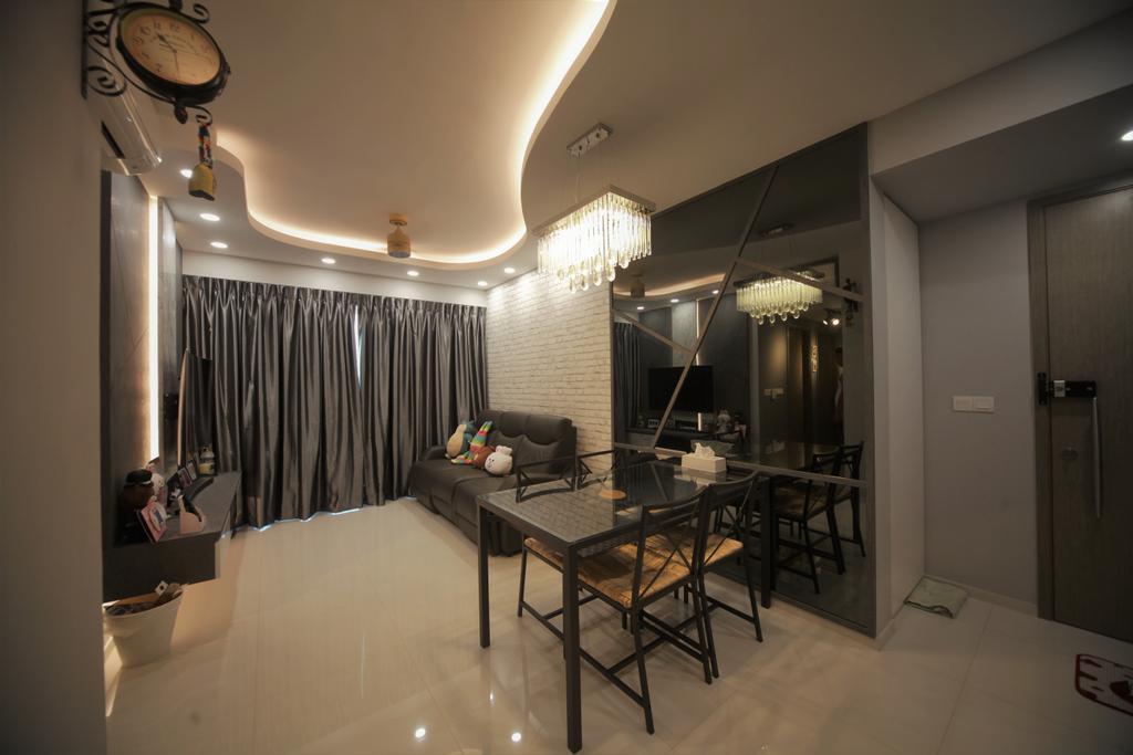 Contemporary, Condo, Living Room, The Terrace, Interior Designer, Interior Diary