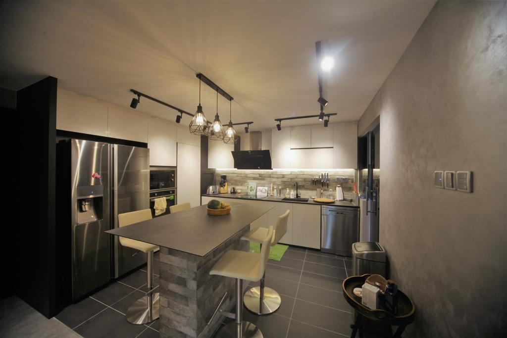 Contemporary, Condo, Kitchen, Aspen Heights, Interior Designer, Interior Diary, Eclectic