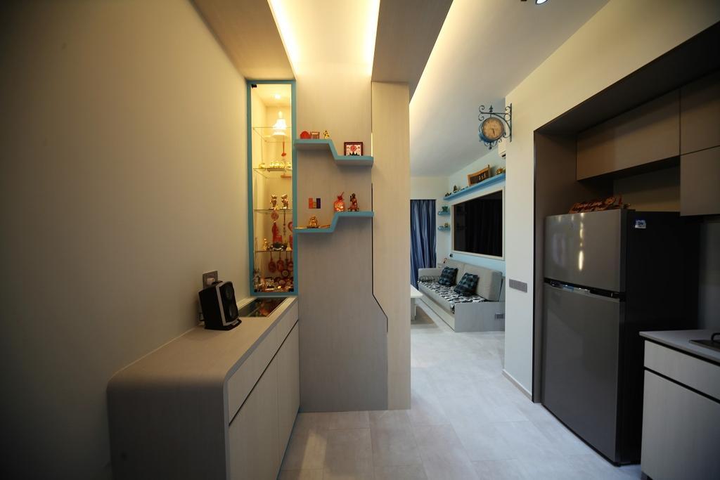 Contemporary, Condo, Kitchen, D'nest, Interior Designer, Interior Diary