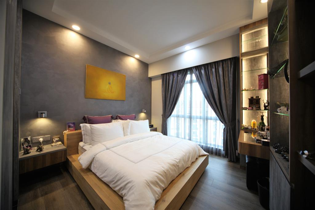 Contemporary, Condo, Bedroom, Aspen Heights, Interior Designer, Interior Diary, Eclectic