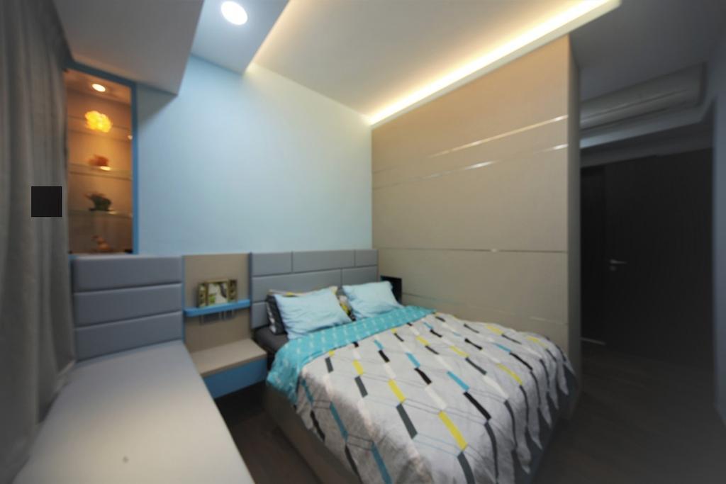 Contemporary, Condo, Bedroom, D'nest, Interior Designer, Interior Diary