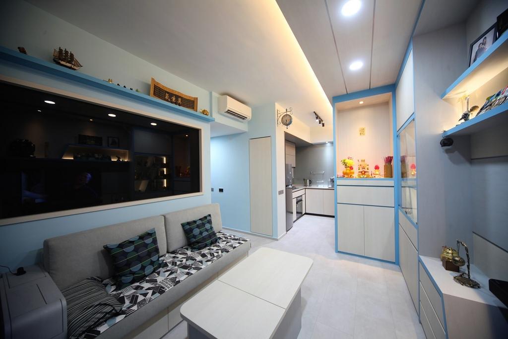 Contemporary, Condo, Living Room, D'nest, Interior Designer, Interior Diary