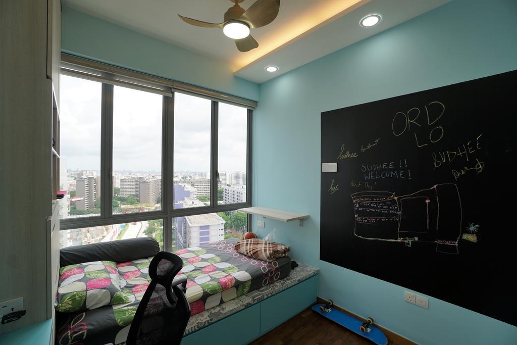 Contemporary, Condo, Bedroom, Bedok Residences, Interior Designer, Interior Diary