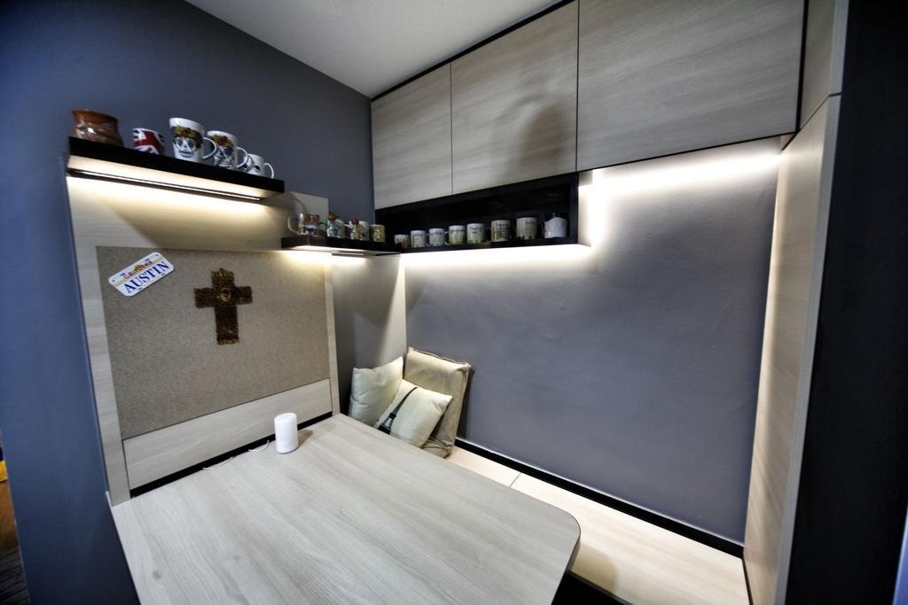 Contemporary, Condo, Study, Guillemard Suites, Interior Designer, Interior Diary