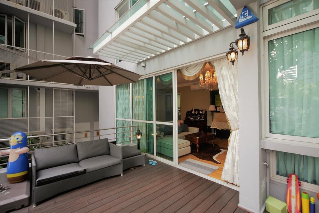 Contemporary, Condo, Balcony, Balmoral, Interior Designer, Interior Diary