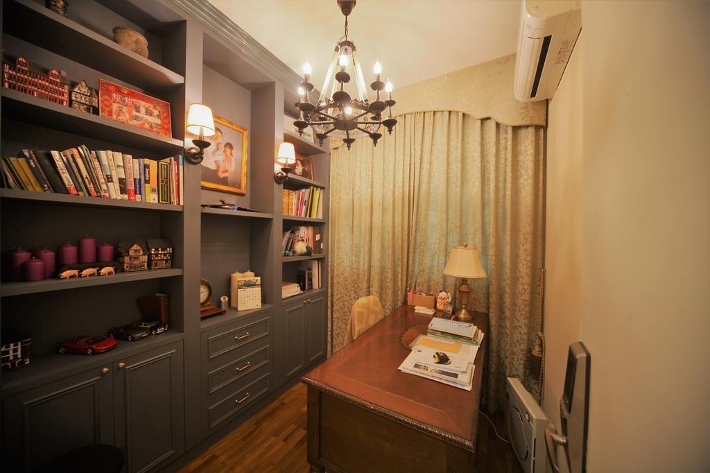 Contemporary, Condo, Study, Balmoral, Interior Designer, Interior Diary