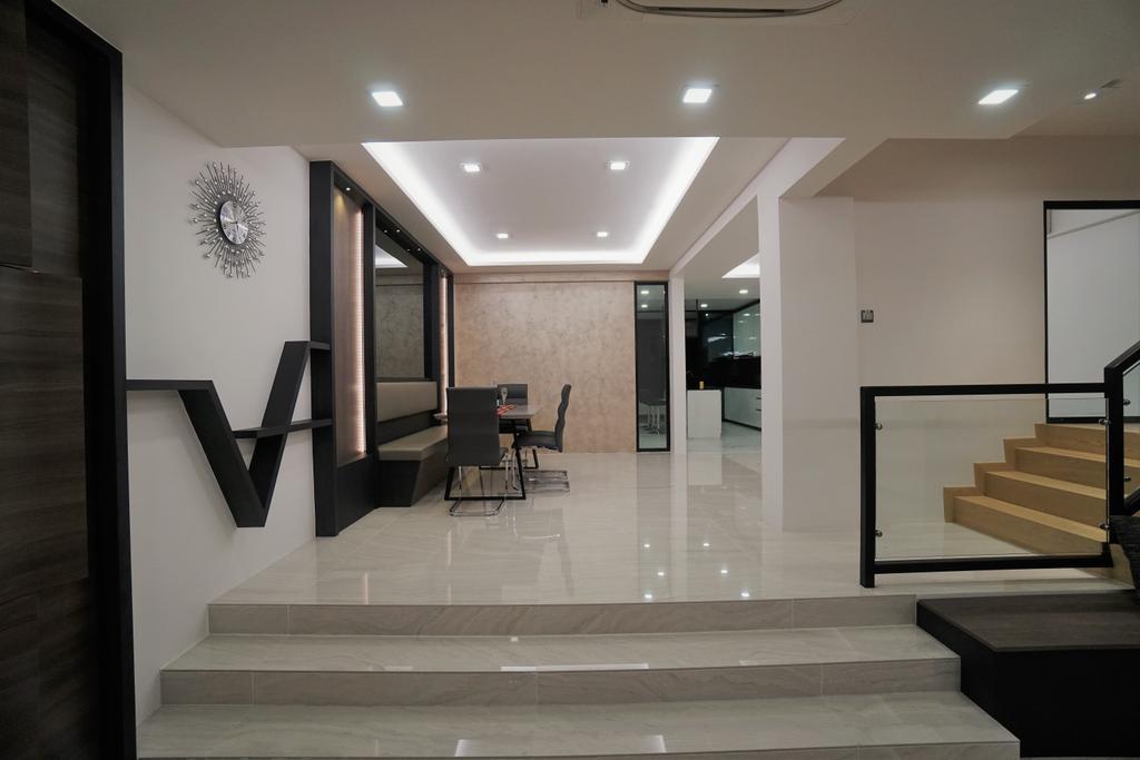 Contemporary, Landed, Serangoon, Interior Designer, Interior Diary