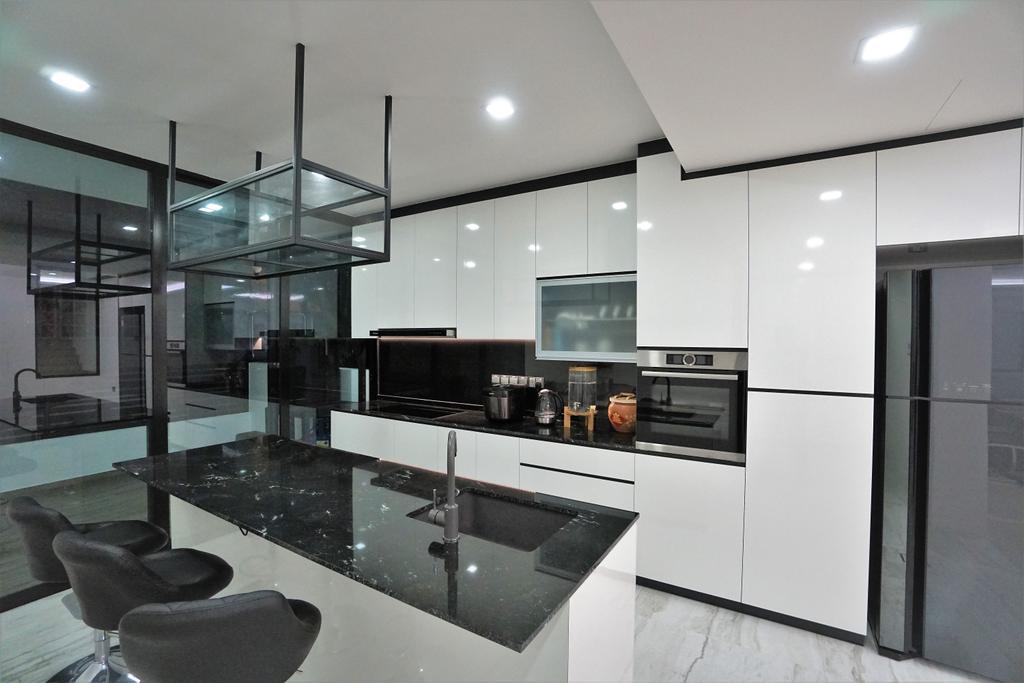 Contemporary, Landed, Kitchen, Serangoon, Interior Designer, Interior Diary