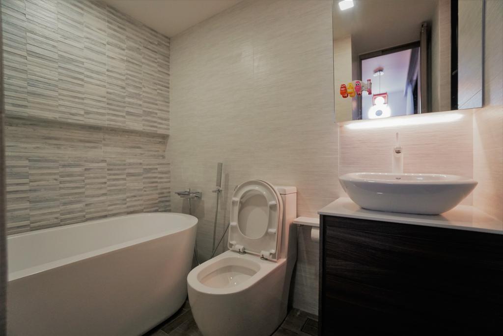 Contemporary, Landed, Bathroom, Serangoon, Interior Designer, Interior Diary