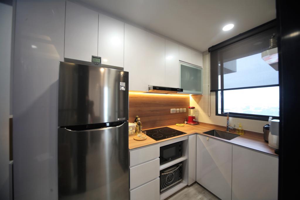 Contemporary, Condo, Kitchen, Bella Casita, Interior Designer, Interior Diary