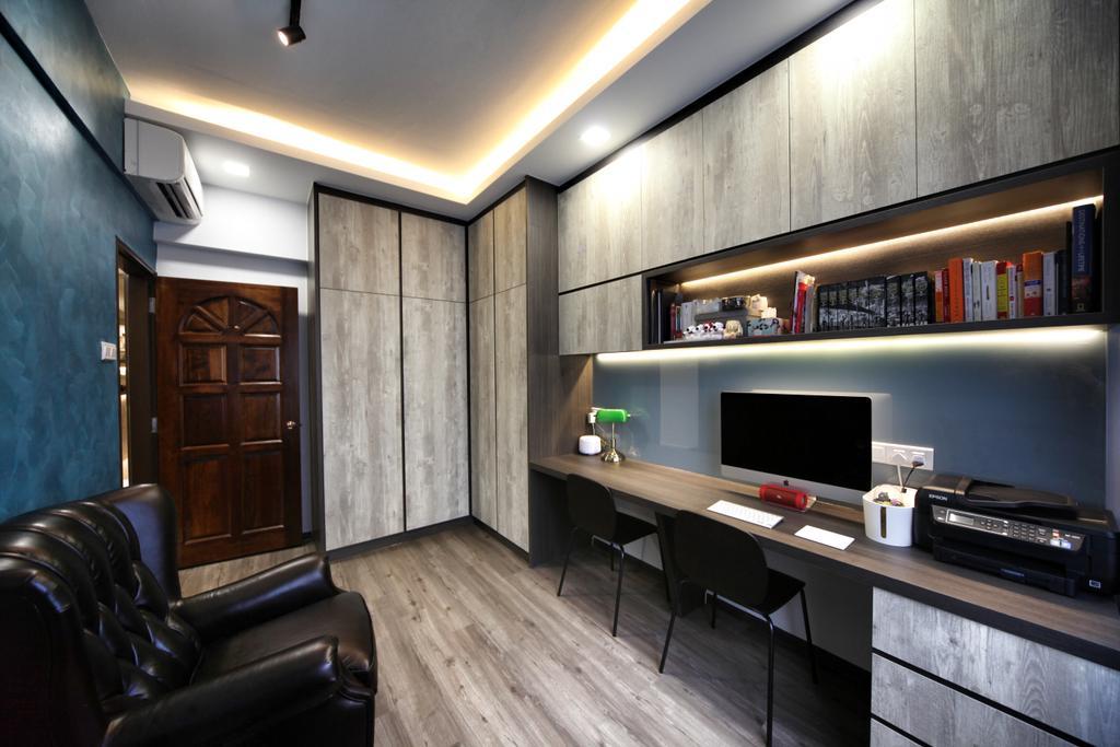 Contemporary, Condo, Study, Lorong L @ Telok Kurau, Interior Designer, Interior Diary