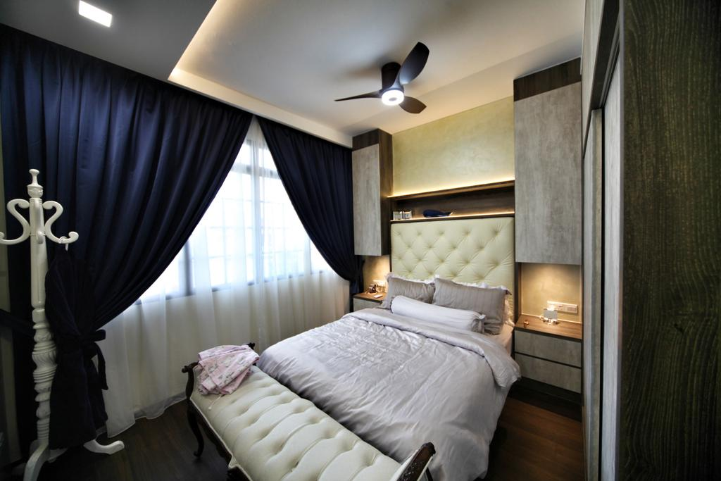 Contemporary, Condo, Bedroom, Lorong L @ Telok Kurau, Interior Designer, Interior Diary