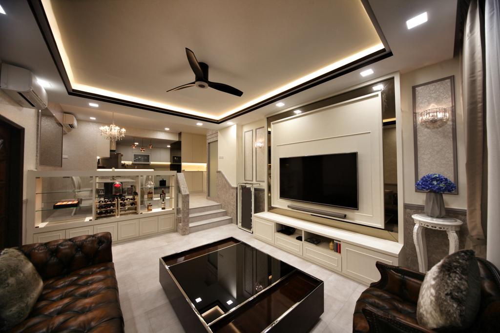 Contemporary, Condo, Living Room, Lorong L @ Telok Kurau, Interior Designer, Interior Diary