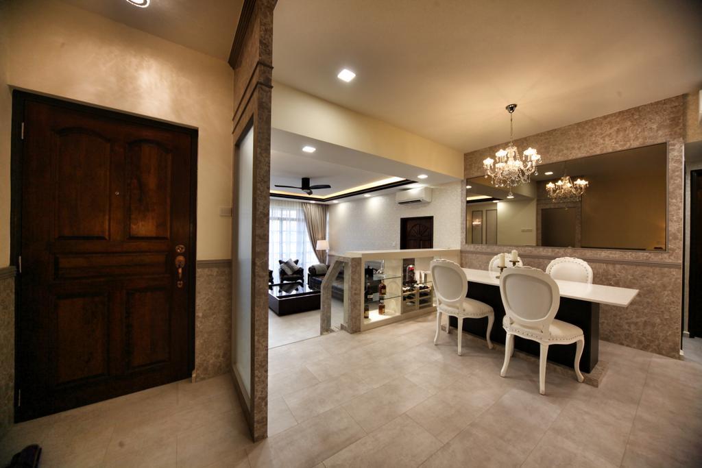 Contemporary, Condo, Dining Room, Lorong L @ Telok Kurau, Interior Designer, Interior Diary