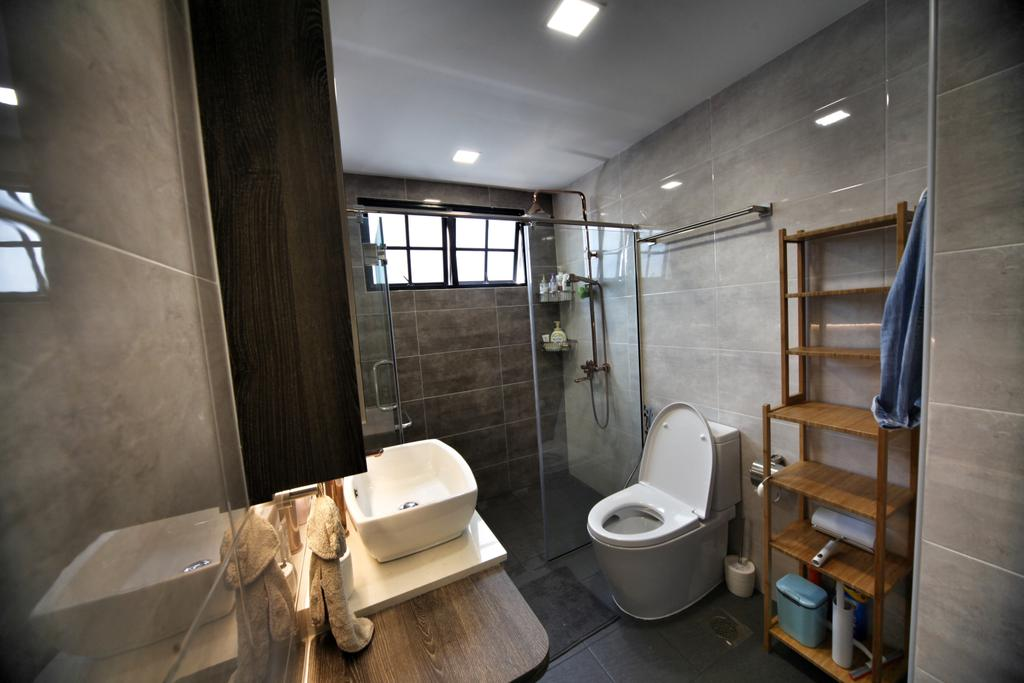 Contemporary, Condo, Bathroom, Lorong L @ Telok Kurau, Interior Designer, Interior Diary