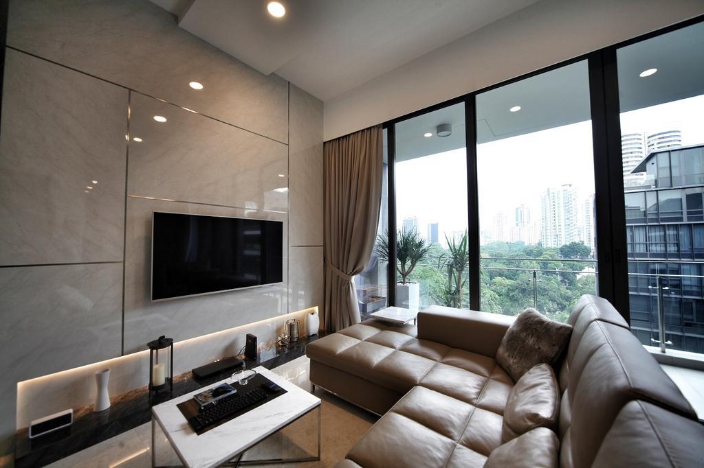 Contemporary, Condo, Living Room, One Balmoral, Interior Designer, Interior Diary